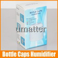 warm mist humidifier - Original Authentic Bottle Caps Humidifier Mini USB Air Cleaning LED Display Working Warm Mist Humidifier