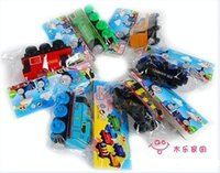 Wholesale 300pcs Baby Vehicle Toy Tomas and Friends Train Toy Magnic Children Gift Wooden Tomas Toy