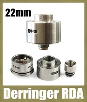 brass fitting - Derringer RDA Mod clearomizer Rebuildable stainless steel copper brass Atomizer Airflow Control fit Mechanical Mods ATB166
