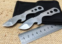 Wholesale 2 set Bartender Defender Great mini neck knife and bottle opener combo Camping Pocket Knife With wine opener EDC Tools Kitchen Knives