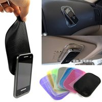Wholesale 1 Automobile Interior Accessories for Mobile Phone mp4 Pad GPS Anti Slip Car Sticky Anti Slip Mat Work Perfectly as Charm