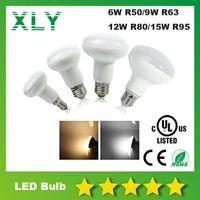 best heat lamp - DHL CE RoHS UL R80 W Led Spotlight Bulbs Lights Best Heat Sink SMD Led Down Light Lamps AC85 V Year Warranty