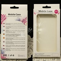 Wholesale Universal Plastic Paper Retail Packaging boxes For Samsung iphone Plus flip Phone case Size x9x1 cm