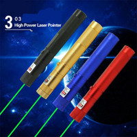 Wholesale LED Laser Pointers Classic Military nm Green Beam Laser Pointer Pen Zoomable Laser Light Battery Charger Retail Box