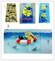beach quilt patterns - Despicable Me cotton large bath towel beach towels style children s Despicable Me cartoon pattern towel