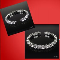 Wholesale Sparkly Cheap Crystal Beads Bridal Bracelet In Stock Top Quality Jewelry Accessories for Party Homecoming Prom