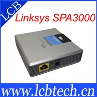 Wholesale UNLOCKED LINKSYS SPA3000 VOIP adapter FXS