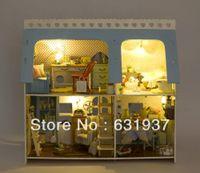 Wholesale Diy Doll house Rocky home dollhouse Christmas gift Mini toy scene