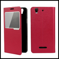 Cheap New For Coolpad F2 leather case 8675-HD 4G LTE FDD best flip cover luxury brand iCoverCase fashion mobile phone protective case