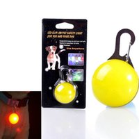 bell collar for dogs - LED Light Nylon Color Night Adjustable Flashing Pet Collar For Dog Safety Cat