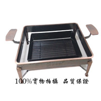 Cheap Wholesale-Cheap special cast iron Welfare carbon Zhuge fish furnace charcoal grill teppanyaki grill plate bronze