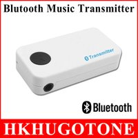 Wholesale High Quality M Bluetooth Receiver Bluetooth Music A2DP AVRCP mm Stereo Audio Adapter For TV DVD MP3