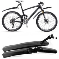 Wholesale New Cycling Mountain Bicycle Bike Front Rear Mud Guards Mudguard Fenders Set Good Quality Brand New