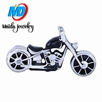 motorcycle charms - New design motorcycle floating charms fit origami owl glass living locket