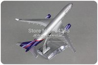 aeroflot airlines - cm Alloy Metal Air Russian Aeroflot Airlines Plane Model Airbus A330 VP BLY Airways Airplane Model Aircraft Mode Toy Gift