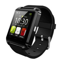 Wholesale Bluetooth smart watch U8 Wrist Watch U smartWatch for For iPhone S S and Samsung S4 Note s6 HTC Android Phone Smartwatch