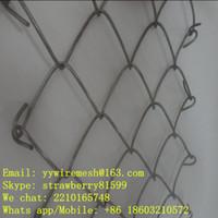 chain link fence panels - Factory Galvanized Foot Chain Link Fence Panel Round Fence post Corrosion Resistance Surface Treatment Protrection