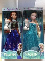 Cheap 2014 Hot sale item 11.5 inch Frozen Figure Play Set Elsa Classic Toys Frozen Toys Dolls with snowman olaf for girls kids gifts 50pcs