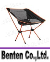 Cheap llfa1460 Free 3 Colors Portable Aluminium Folding Camping Stool Chair Seat for Fishing Festival Picnic BBQ Beach with Bag Red Orange Blue