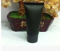 Wholesale 20piece ml Color Black PP Empty Refillable Bottles Cosmetic Soft Tube Hand Cream Emulsion Toothpaste Packing Tube