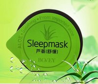 aloe mask - Free Trial Sample Aloe Jelly Sleeping Mask Non Washing Facial Mask Soothing Acne Prevent Night use Bovey Sleep Mask g V5181