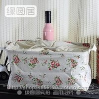 Wholesale Zakka groceries pastoral style linen storage baskets Storage basket love to recommend Han Fengtian garden style home