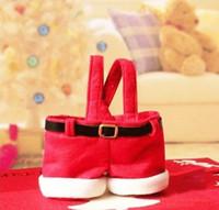 christmas bag - Santa Claus Pants Style Christmas Candy Gift Bag Christmas Decorations for Lover Marry Christmas Bag Xmas Wedding Candy Bags