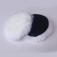 Wholesale 20pc mm quot inch Wool Polisher Bonnet Car Polishing Pads For Car Care hook loop