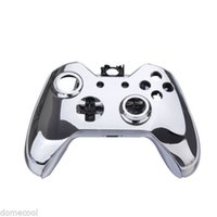 Wholesale Gamepad Controller Housing Shell w Buttons for XBOX ONE DHandle Shell Silver