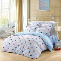 Wholesale LOVO Leisure Time Cotton Thread Count Bedding Comforter Sheet Set Duvet Cover With Pillowcases