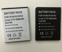 Wholesale Galaxy S2 Battery i9100 Batteries EB F1A2GBU Good Quality For Samsung Galaxy S2 GT i9100