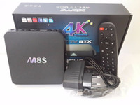Wholesale Online Update M8S K Smart Android TV Box Amlogic S812 Quad Core GB GB Box Stream Video Sports Program Channels kodi14
