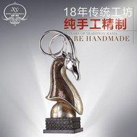 antelope figurine - high grade lucky animal Sheep shead Craft figurine antelope Home office Decor Resin Crafts