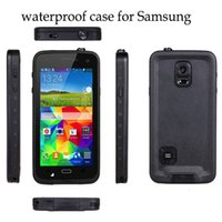 abs water level - EXTREME Waterproof Dropproof Dirtproof Shockproof cell phone Cases cover for Samsung Galaxy S6 Multi Level Protection