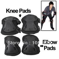 knee and elbow pads - Free shiping Unique X shaped Couples Hatch XTAK Tactical Knee and Elbow Pads Protective Gear