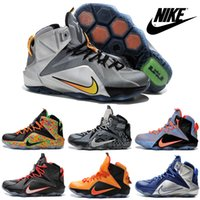 brand sport shoes - Nike LeBron XII Basketball Shoes For Men Authentic Cheap Sneakers High Quality Trainers Mens Brand Sports Boots