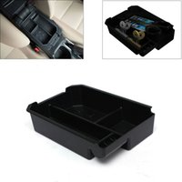 Wholesale New Type B Center Console Armrest Storage Box Tray For Toyota RAV4 Black order lt no track