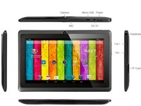 Wholesale Q88 Inch ALLwinner A23 Tablet PC Android Capacitive Screen GHZ single Camera Dual Core MB GB ROM colors Mixed