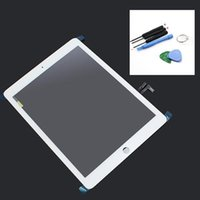 Wholesale White color Front Touch Screen with Digitizer for iPad Air withTools