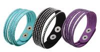 Wholesale Luxury women bracelet multi layers hot stamping rhinestone diamond bracelets men wristband tennis colorful charm jewelry