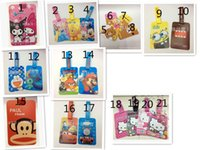 Wholesale passport holders passport covers Card holders Fashion cartoon passport sets L052A