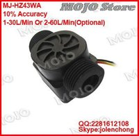 Wholesale MJ HZ43WA X10PCS G3 PP Plastic water pulse output flow sensor