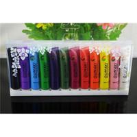 acrylic paint tubes - set Nail Polish Acrylic UV Gel Design D Paint Tube Nail Painting Colors Nail Polish False Tips Drawing Nail Beauty Tools