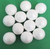 Wholesale Hot Sale natural white styrofoam round balls Craft foam ball Handmade DIY nylon stocking flower accessories