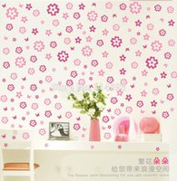 Cheap Removable Flower Butterfly Decal Decorating Room Wall Sticker PVC Waterproof New
