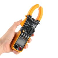 Wholesale Portable HYELEC Digital Clamp Meter Multimeter AC DC Current Volt Tester Brand New