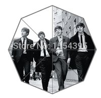 best outdoor umbrellas - Musician Band Retro The Beatles Cool Design Portable Fashion Foldable Outdoor Setting Custom Umbrella Your Best Gift P28