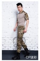 military equipment - 2015 NEW Men clothes camouflage army uniform military equipment militar paintball equipment ropa de caza tactical pants with knee pads