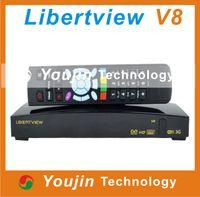 Wholesale Full HD P DVB S2 set top box Dual core libertview V8 with good price libertview f5s