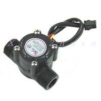 Wholesale PC Water Flow Sensor Flowmeter Hall Flow Sensor Water Control L min